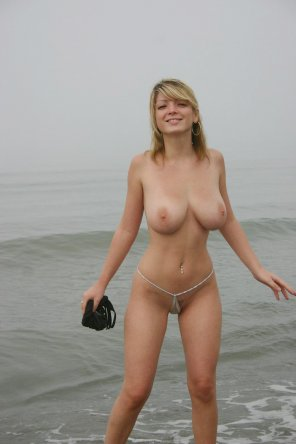 amateur photo The breast kind of bikini