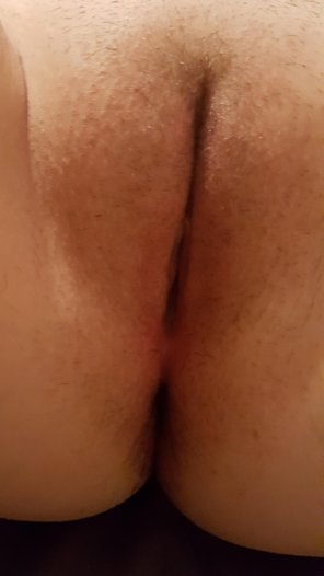 amateur photo Freshly shaved and ready to be licked
