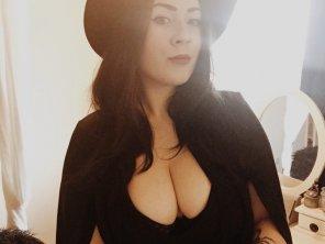 amateur photo Goth girl