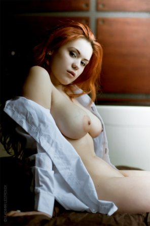 amateur photo Sweet busty redhead