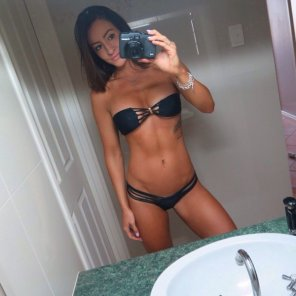 amateur photo Beautiful and fit