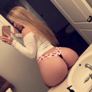 amateur photo Booty selfie