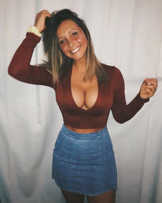 Jeans Skirt Porn Photo