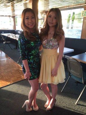 amateur photo Sparkly Dresses