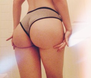 amateur photo Pulled up panties