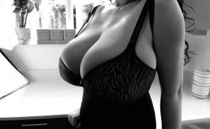 amateur photo Corset in black and white