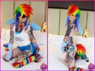 [MLP:FiM] Humanized Dashie