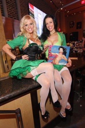 amateur photo St. Patrick's Day