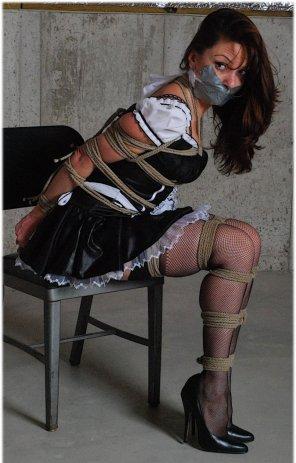 amateur photo Punishing the maid