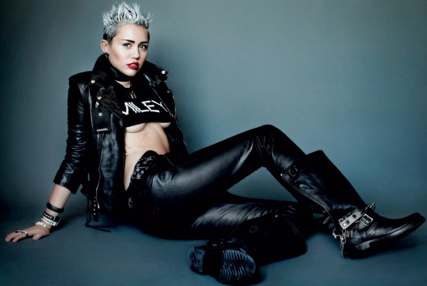 Miley Cyrus for V Magazine Porn Photo