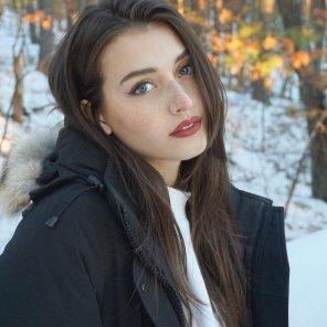 amateur photo Winter Backdrop