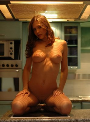 amateur photo Ready for some action in the kitchen
