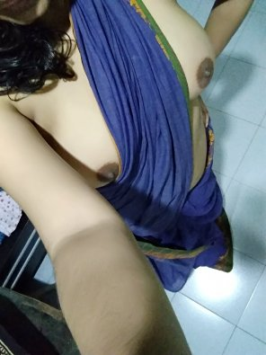 amateur photo Since you like me in saree [f]