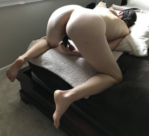 amateur photo Doggie position and ready! [43]