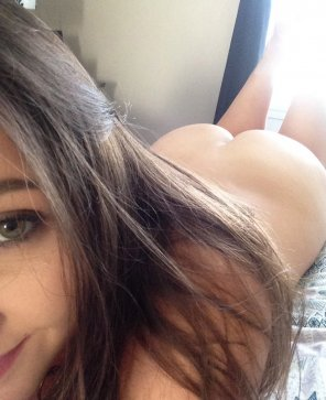 amateur photo Sweet selfie