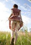 amateur photo Walking in the field