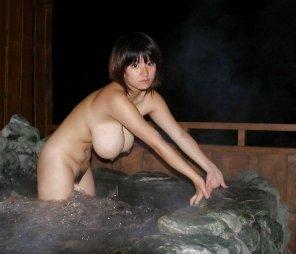 amateur photo Hot tub