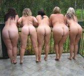 Cheeky lineup.