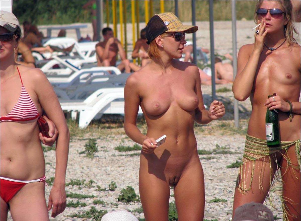 Junior candid beach nudist girl