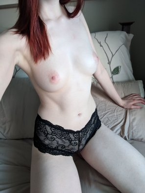 amateur photo Just a bit of black lace [self]
