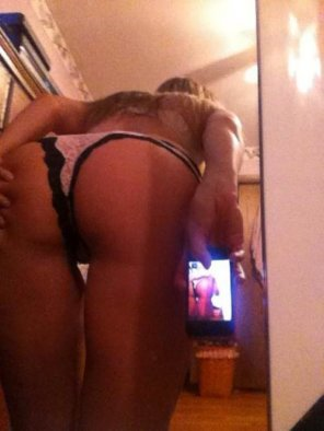 amateur photo Ass 'Seflie' or.... Asselfie ;)