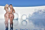 Kelsi Monroe and Anikka Albrite