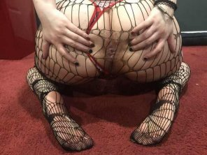 amateur photo Original ContentGetting freaky in fishnets [OC]