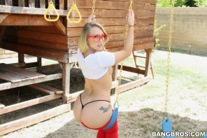 amateur photo swing set fun