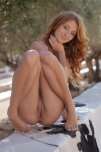 amateur photo Adorable redhead
