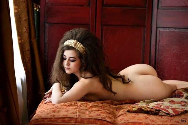 Big hair Porn Photo