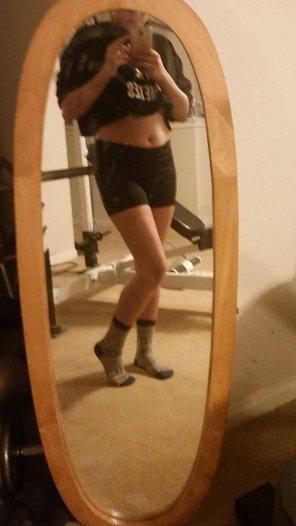 amateur photo [F] I got some new socks - do you like?