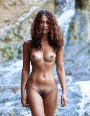 amateur photo Tanned body...