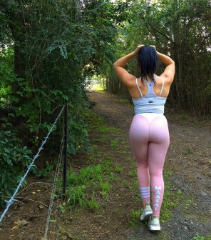 amateur photo Pink Runner