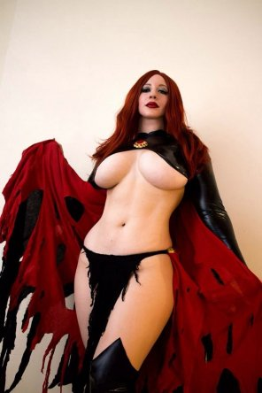 amateur photo Belle Chere as the Goblin Queen