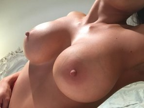 amateur photo find out how your cock measures up with this Boob-sel[F]