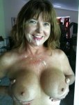 amateur photo Cougar showing off