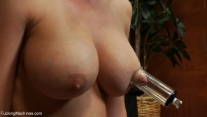 amateur photo Madison Scott with Suction Cups