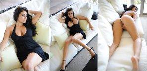 amateur photo Black Dress