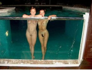 amateur photo Out for a quick skinny dip