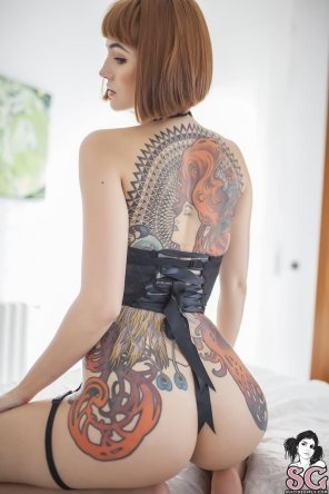 amateur photo Back piece