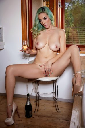 amateur photo Happy New Year with Jelena Jensen