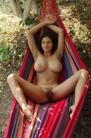 amateur photo The Girl in a Hammock