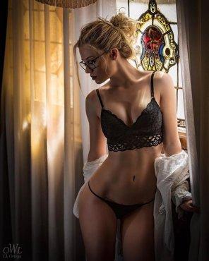 amateur photo Black Lace