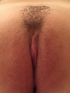 amateur photo Just got her waxed