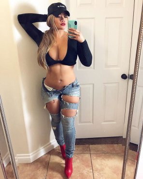 amateur photo Sexy jeans
