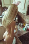 amateur photo Blonde Bunny