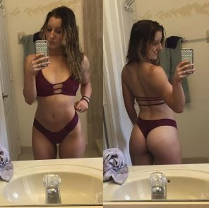 amateur photo Front and back