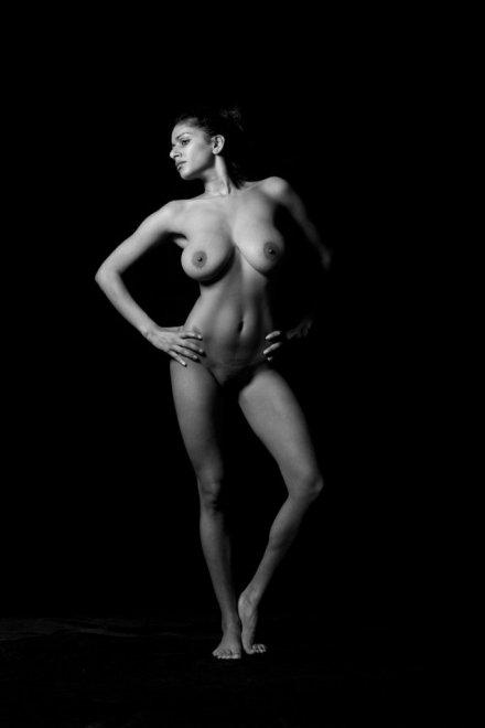 Black & White Porn Photo