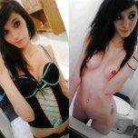 amateur photo Teen in lingerie