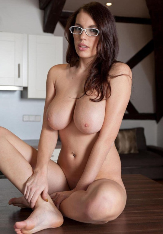 college student poses - Sitting on the table Porn Photo